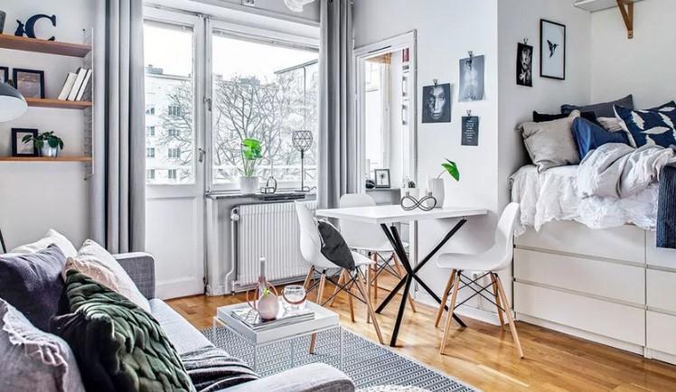 Bed room Living area Optimisation