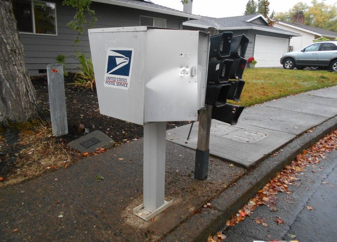 Expenses associated with Stopping Nation Mail box Vandalism