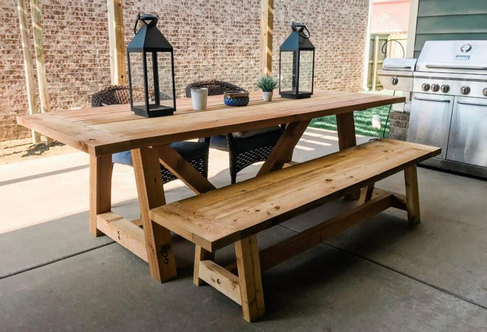 Wooden Benches — Enhance Your own Outdoor patio Having a Stunning Wooden Table