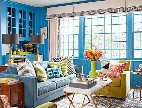 5 Daring as well as Lively Family room Furnishings Styles as well as Colour Strategies