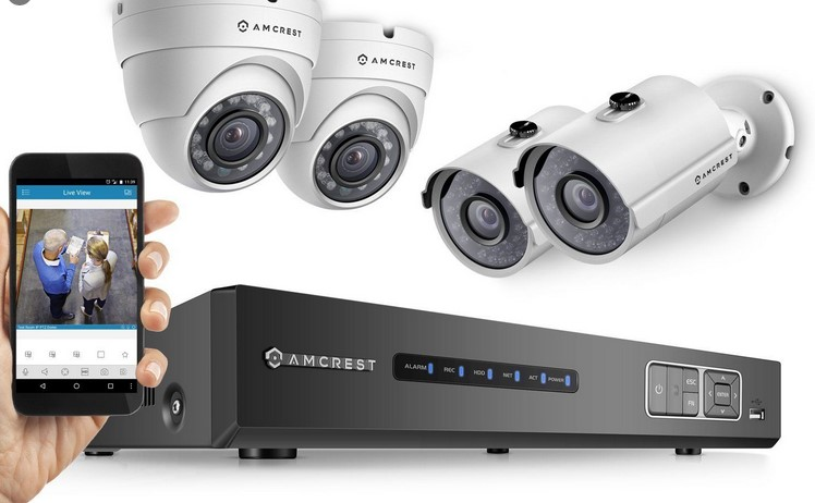 Security alarm Digital camera