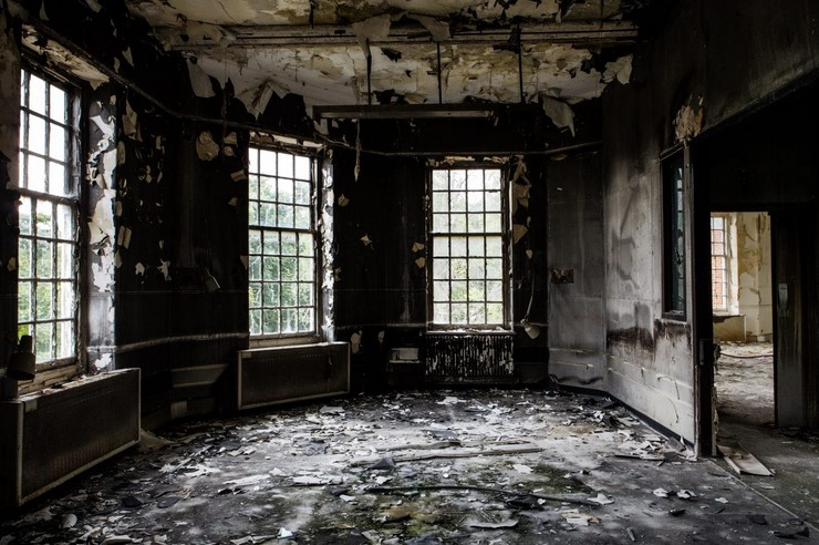 Processes Involved in a Fire Damage Repair