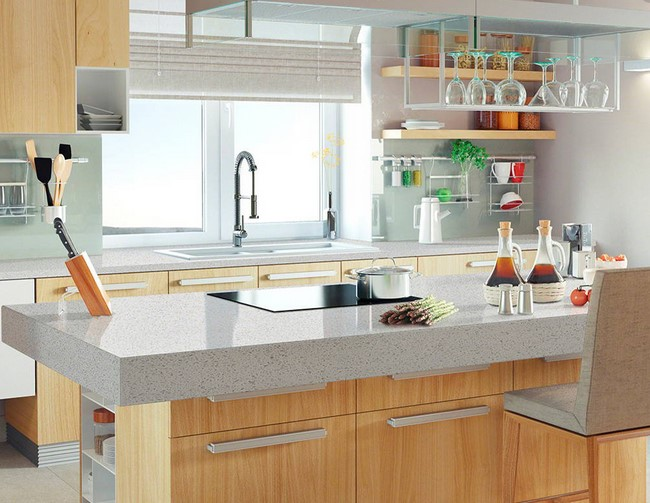 Why you ought to Change in order to Utilizing Rock Counter tops