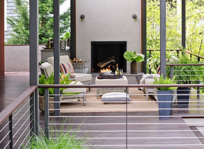 Outdoor patio Railing Styles: Do your research
